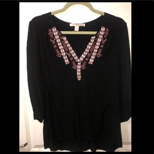 Forever 21 Contemporary Peasant Top